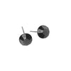 Kriaa Rhodium Plated Stud Earrings
