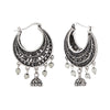 Jeweljunk Rhodium Plated Afghani Earrings