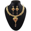 Soha Fashion Gold Plated Pota Stone Necklace Set