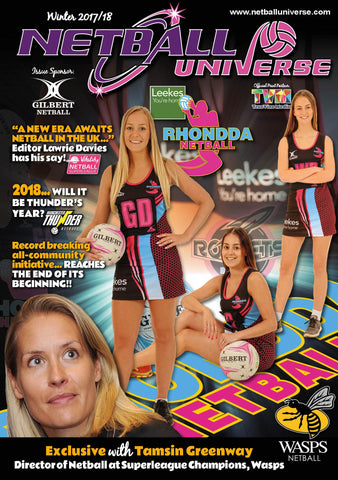 Netball Universe Winter 2017/18 - Hard Copy