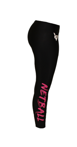 Netball Leggings Pink