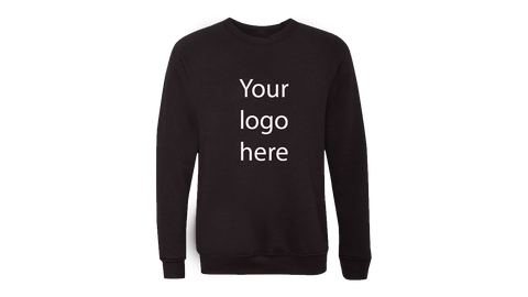Black Personalised Jumper