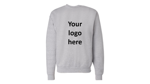 Grey Personalised Jumper