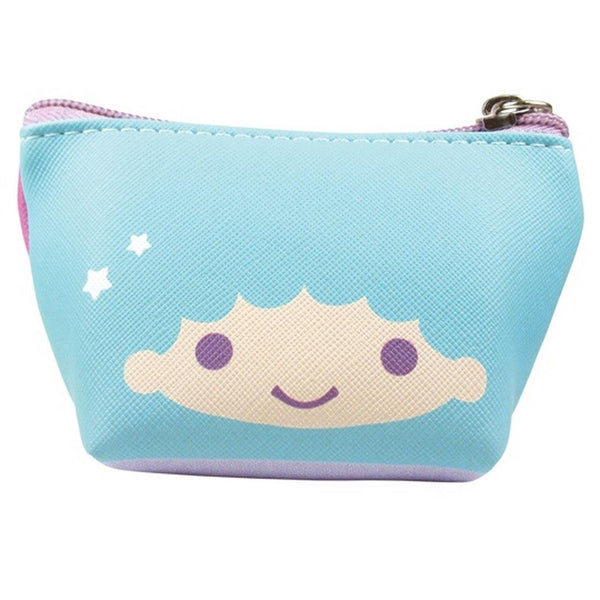 Little Twin Stars Small Zip Pouch Keychain