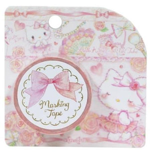 Hello Kitty &  Miki Takei Masking Tape Crafting Paper