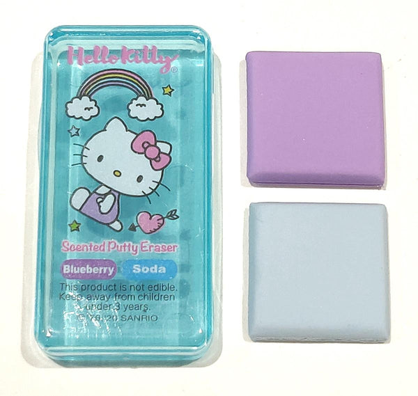 Hello Kitty Scented Putty Eraser 'Rainbows' - Blueberry & Soda