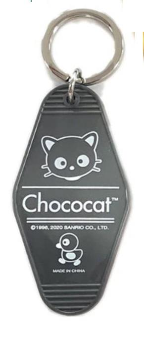Chococat Tag Key Ring
