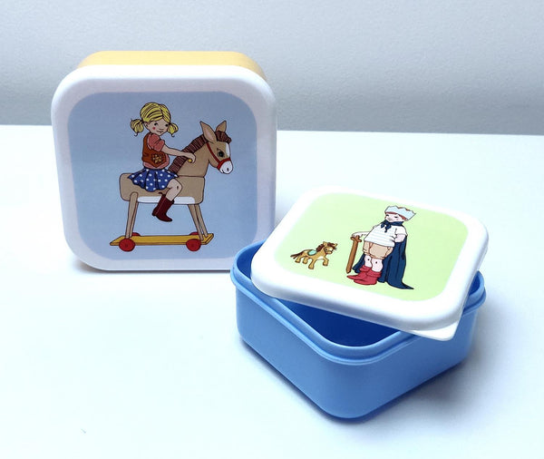 Belle & Boo Snack Container Set