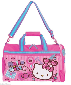 Hello Kitty Overnight/Holdall Flight Bag - Lovely