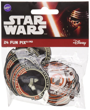 Wilton Fun Pix-Star Wars 24/Pkg