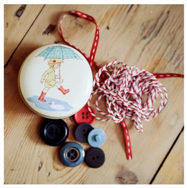 Belle & Boo Trinket Tin Vintage Style - Poppy's Puddles