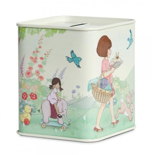 Belle & Boo Vintage Style  Money Box/Tin