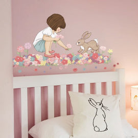 Belle & Boo Wall Sticker 'Meadow' Vintage Style