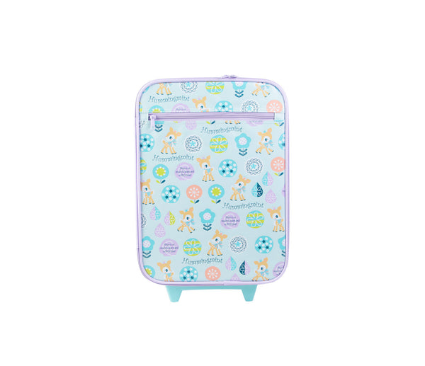 Hummingmint Rolling Luggage Trolley Case Suitcase: Colourful