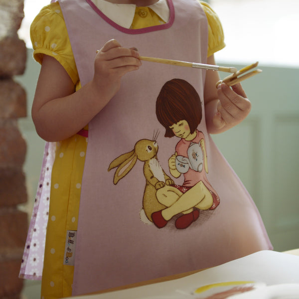 Belle & Boo Tabard/Apron Crafting Painting Age 2-4