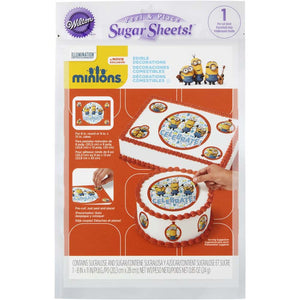 "Large Edible Cake Decoration Kit (Sugar Sheets) Minions""Half Price"""
