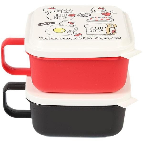 Hello Kitty 2 Tier Lunch Box Set
