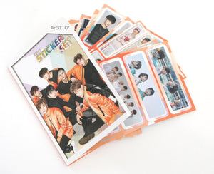 K-pop GOT7 16 sheet Sticker Photograph Set