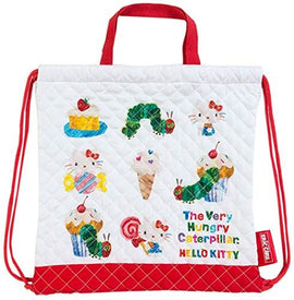 Hello Kitty & The Very Hungry Caterpillar Quilted Drawstring Bag PE Bag