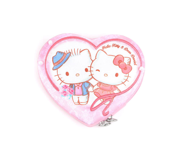 Hello Kitty & Dear Daniel Heart Shaped Jewellery Box: Rose