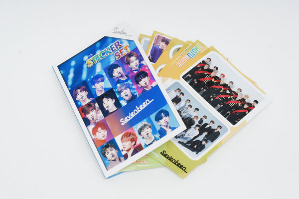 K-pop SEVENTEEN 16 Sheet Photograph Sticker Set