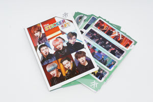 K-pop Monsta X 16 Sheet Photograph Sticker Set