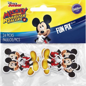 Mickey Mouse Party Fun Pix Sticks Cake Decoration