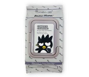The Creme Shop: Sanrio Badtz-Maru 20 Pre-Wet Towelettes  Make Up Cleansing Wipes