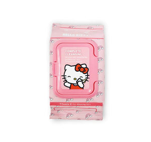 The Creme Shop: Sanrio Hello Kitty 20 Pre-Wet Towelettes Make Up Cleansing Wipes