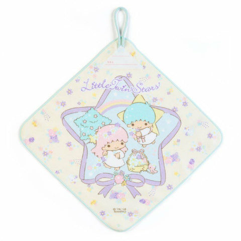 Little Twin Stars Face Cloth/Towel 100% Cotton