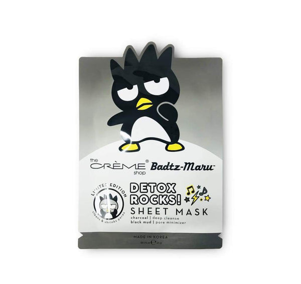 The Crème Shop: Badtz-Maru Detox Sheet Mask