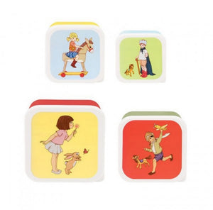 Belle & Boo 4 Piece Container Lunch Snack Box Set