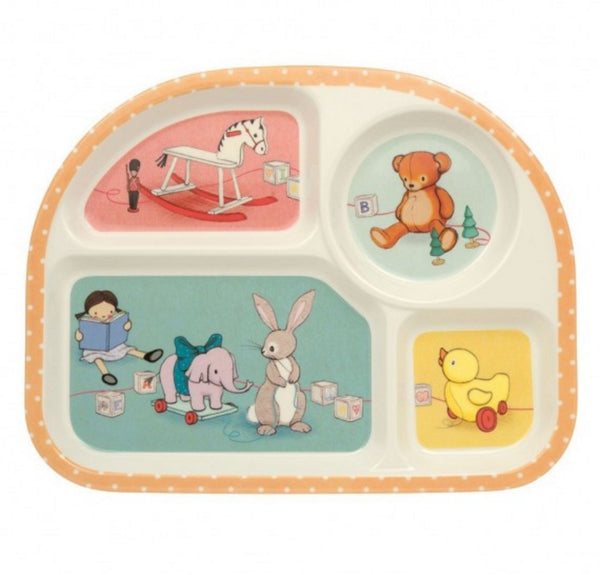 Belle & Boo Toy Box  Kids Section Eating Tray Plate