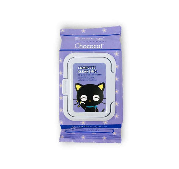The Creme Shop: Sanrio Chococat 20 Pre-Wet Towelettes Make Up Cleansing Wipes