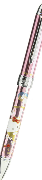 Hello Kitty Deluxe Multi Functional Pen Makie Design - Pink