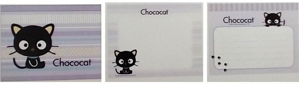 Chococat Memo Note Book (90 Sheets) - Lavender