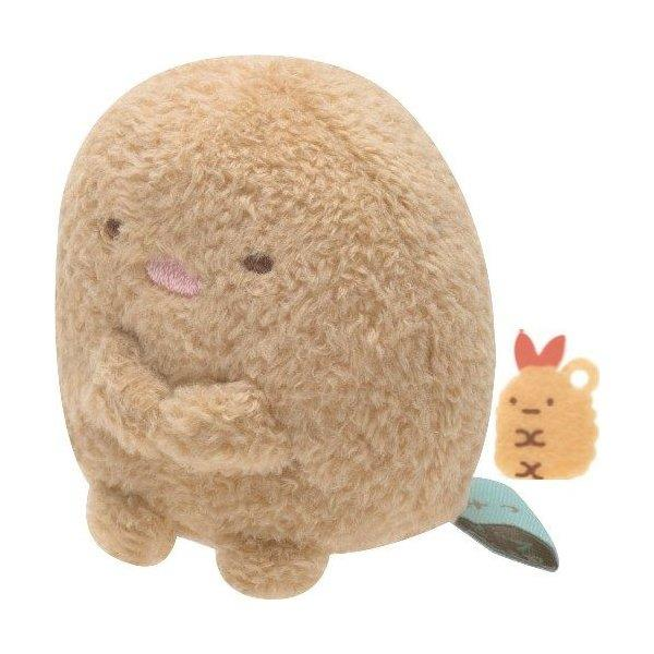 Sumikko Gurashi Tonkatsu Pork Cutlet Micro Mini Plush
