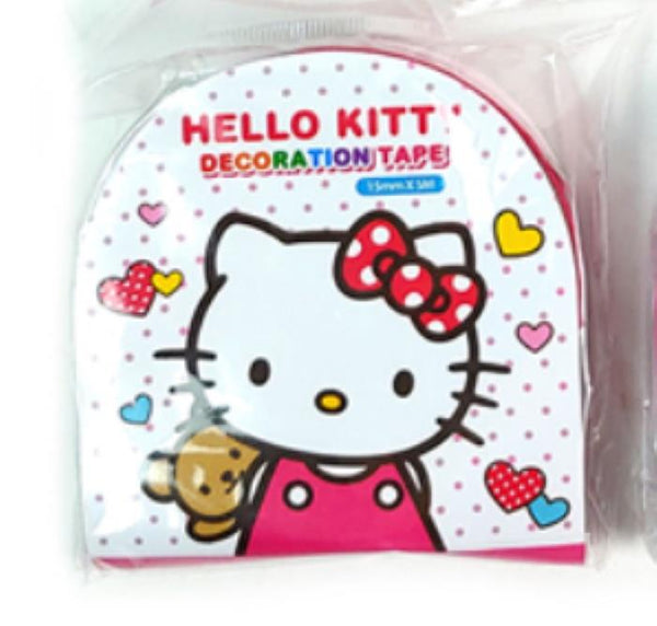 Hello Kitty Decorative Crafting Paper Masking Tape - Tape 3