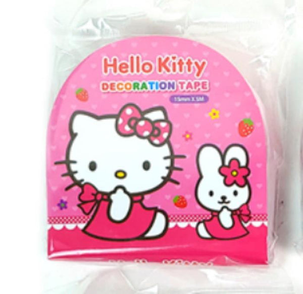 Hello Kitty Decorative Crafting Paper Masking Tape - Tape 1