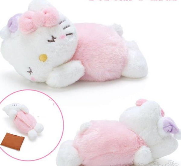 Small Hello Kitty Plush Cushion Warmer (with heat bag)
