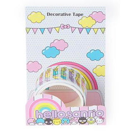 Hello Sanrio Decorative Tape: Fast Food