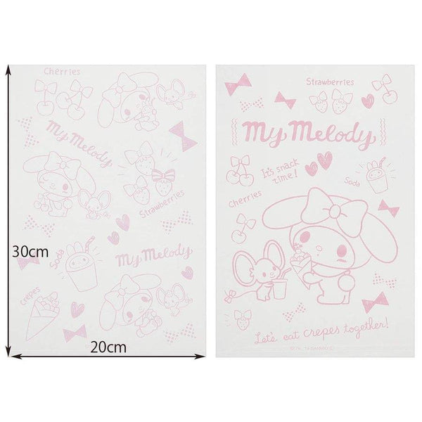 My Melody Roll of Disposable Sandwich Bags