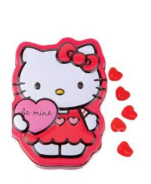 Hello Kitty Strawberry Hearts Sweeties in Tin