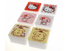 Hello Kitty  & Friends Set of 6 Kitchen Sponges