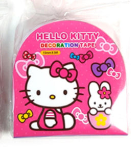 Hello Kitty Decorative Crafting Paper Masking Tape - Tape 2