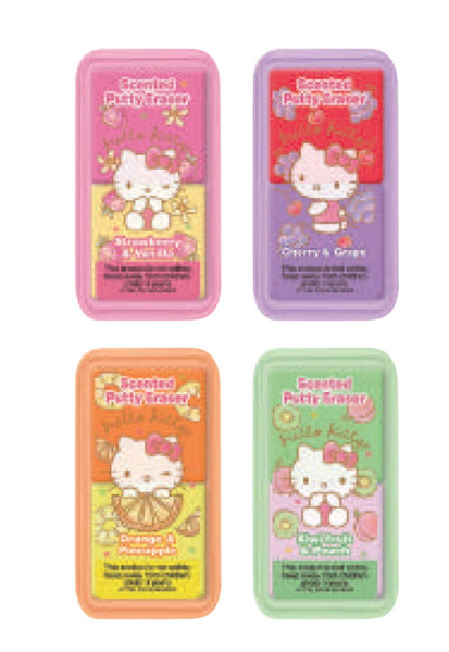 Hello Kitty Scented Putty Eraser Set - Fruits FULL SET