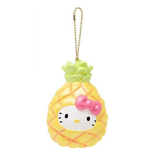 Hello Kitty Squishy Doll Figure - Pineapple