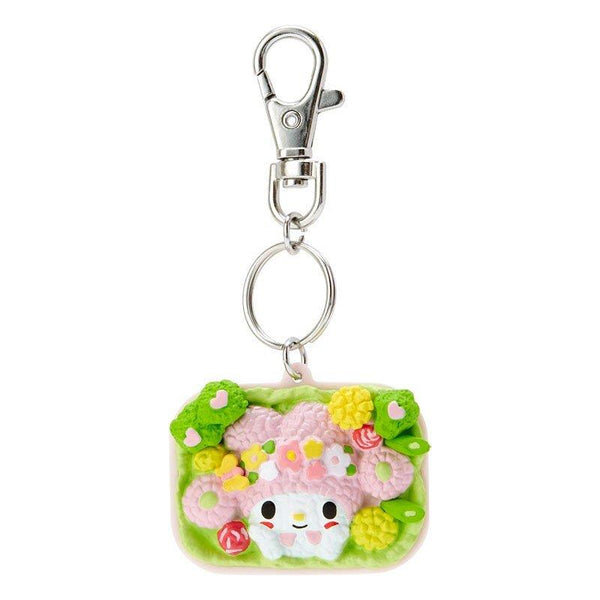 My Melody Lunch Box Resin Keyring Keychain