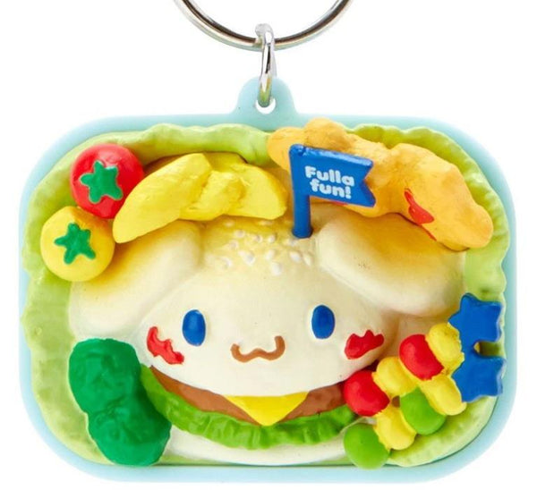 Cinnamoroll Lunch Box Resin Keyring Keychain