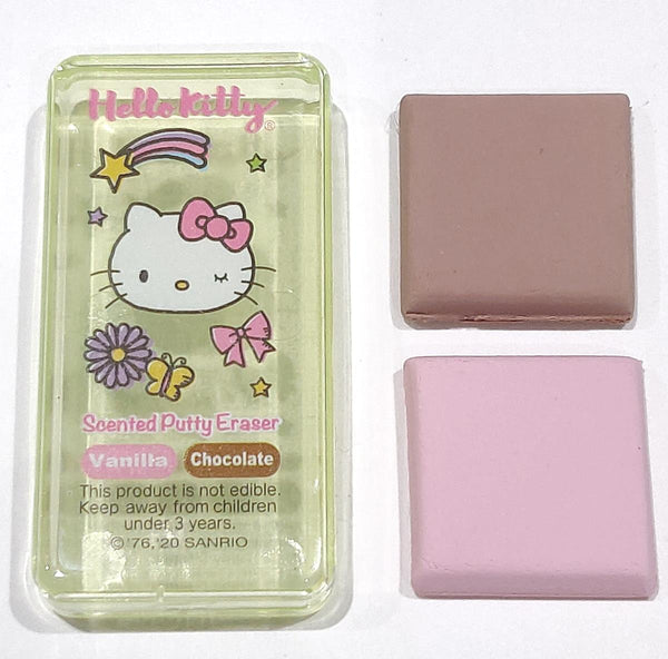 Hello Kitty Scented Putty Eraser 'Rainbows' - Vanilla & Chocolate
